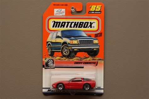 Matchbox 97 Corvette matchbox 2000 series 17 97 chevy corvette logo car