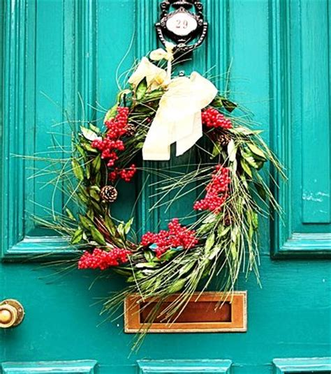 Modern Front Door Decor wreath wikipedia