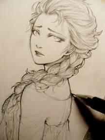 drawings of elsa from frozen frozen elsa doodle by lehanan on deviantart