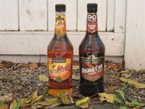 Bottom Shelf Whiskey by The Bottom Shelf Hiram Walker Butterscotch