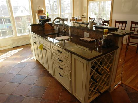 curved cabinets made easy kitchen island with sink you will loved traba homes