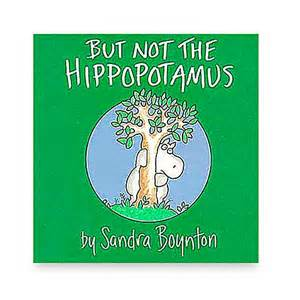 buy but not the hippopotamus by boynton from bed