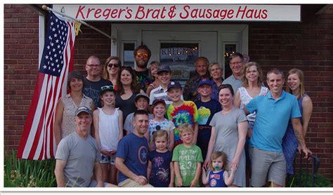 Kreger S Brat Sausage Haus Handcrafted Bratwursts