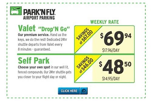 discount coupon park and fly toronto