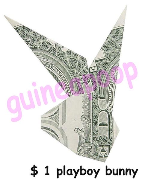 Origami Money Bunny - bunny money origami 171 embroidery origami