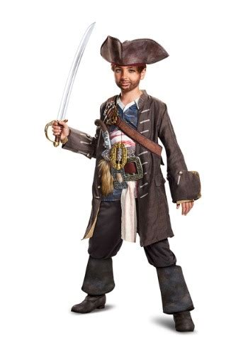 That Sparrow Kid by Captain Sparrow Prestige Costume For Boys