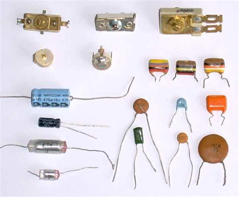 radio world a capacitor and radio world a capacitor and different types