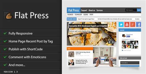 themeforest blogger download free flat press blogger template bloggersstand