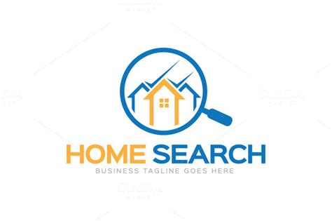 home search logo logo templates on creative market