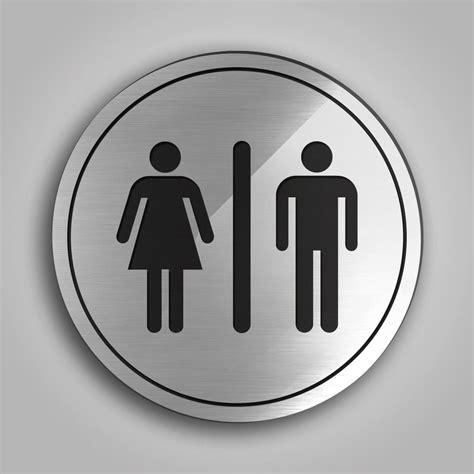 cartelli per bagno targhette bagni circolari acquista cartelli per bagno