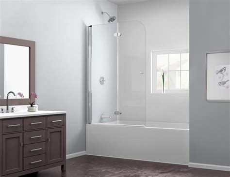 folding bathtub doors aquafold hinged tub door