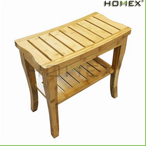 bamboo spa bench bamboo shower seat shower seat bench bathroom spa bath organizer stool with 2tier