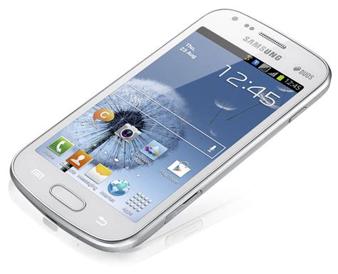 Samsung Duos Samsung Galaxy S Duos Specifications And Price