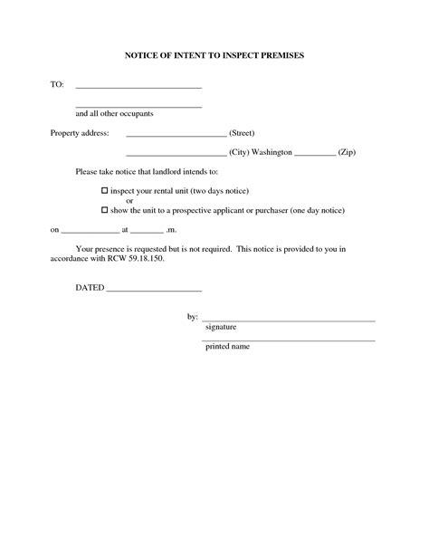 Letter For Rental Property Inspection 10 Best Images Of Resident Inspection Letter Apartment Inspection Notice Letter Sle