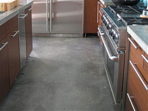 concrete floor home material