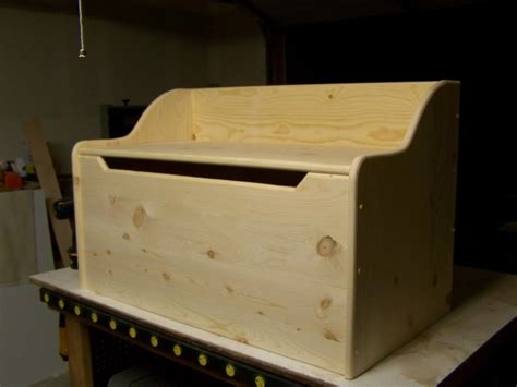 pine toy box woodworking talk woodworkers forum