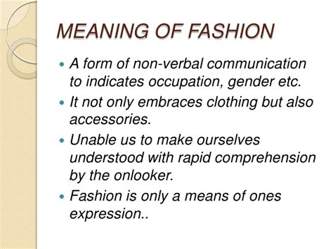 social biography meaning fashion and its impact on social change