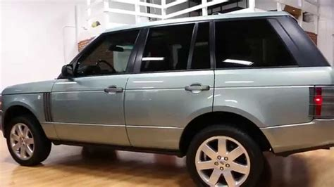 2000 land rover green 2008 land rover range rover hse for sale rare lucerne