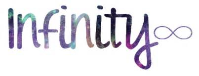 Infinity Sign On Word Infinity Gif On