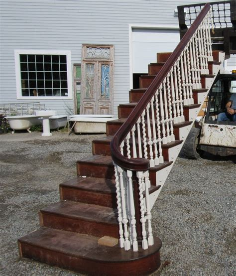Oak Banister Rails Sale Nor East Architectural Salvage Of South Hampton Nh