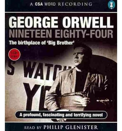 1984 nineteen eighty four 1857151348 nineteen eighty four 1984 george orwell philip glenister 9781906147440