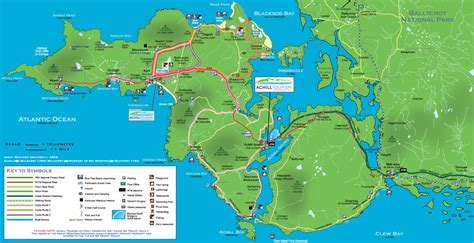 0008320403 wild atlantic way pocket map travels achill island the fiery redhead blog