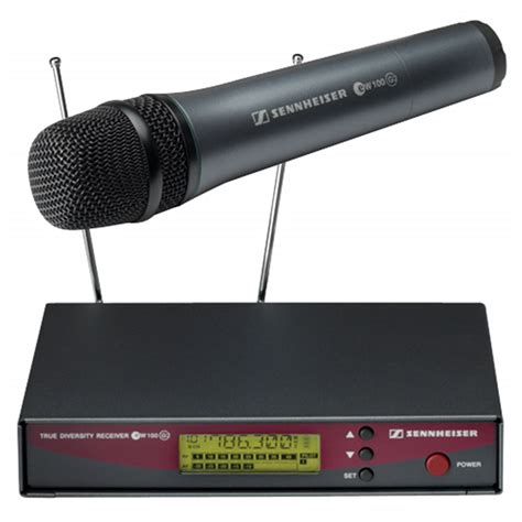 Microphone Mic Wireless Senheiser Ew 545 G2 Uhf Vokal Professional sennheiser ew135 g2 handheld wireless mic system pssl