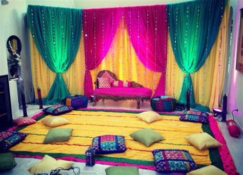 Indoor Decoration Ideas Mehndi Decoration Ideas 2016