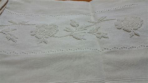 tende cotone balza per tenda lino e cotone con ricamo di rosa