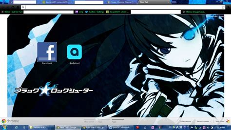 themes google chrome rock black rock shooter google theme by g27hiba18 on deviantart