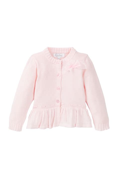 Sweater Anak N Bab Pink quiltex pretty bow sweater baby nordstrom rack