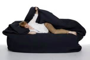 bean bag bed with pillow and blanket moody chair huge bean bag we know how to do it