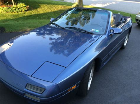 mazda convertible blue mazda rx7 convertible blue 69 918 original miles no