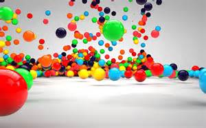 define colorful 3d colorful balls desktop background stylish wallpaper