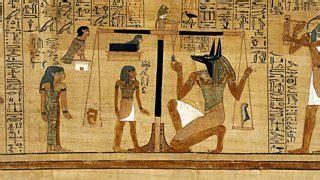 bbc radio    time  egyptian book   dead
