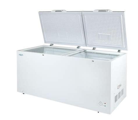 Aqua Freezer Aqf 500 W daftar harga kulkas freezer terbaru september 2018