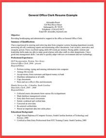 Resume Templates For Office by Best Photos Of Office Clerk Resume Exles