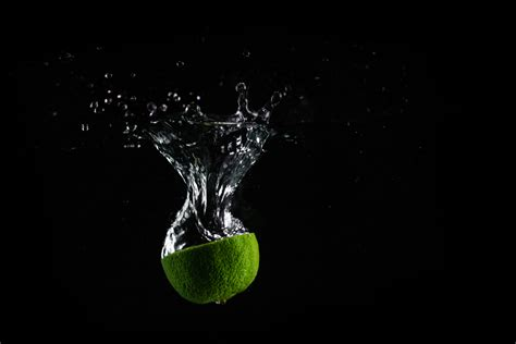 free royalty free stock images from picjumbo lime in water with black background free stock photo