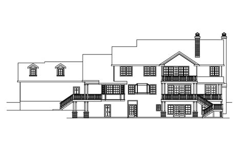 House Plans For Sloping Lots In The Rear by House Plans For Sloping Lots In The Rear 28 Images