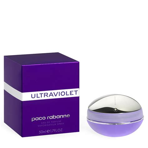 Parfum Ultraviolet paco rabanne ultraviolet for eau de parfum 50ml free