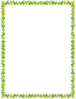 Leaf Border Bordes Pinterest Page Borders Leaf Border Y Clip Art Leaf Border Template