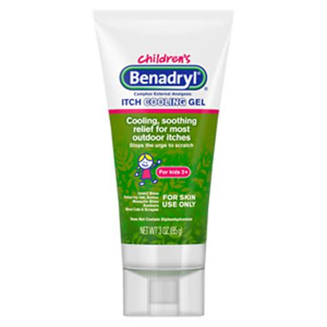 itching medicine children s benadryl anti itch gel original strength drugstore