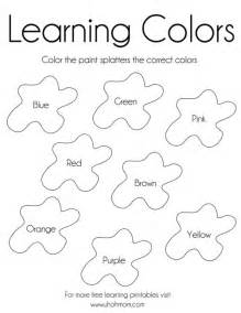 uh colors coloring pages learning colors free printable uh oh