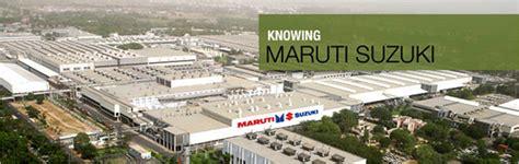 Suzuki Plant Contact Us Maruti Suzuki In Maruti Suzuki