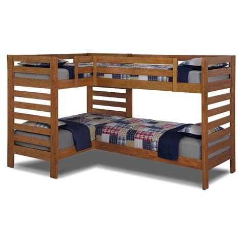 twin bed bunk beds value city furniture