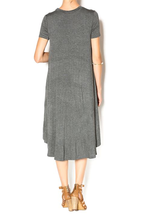 Dress Flow 1 flamingo charcoal flow dress from tennessee by southern