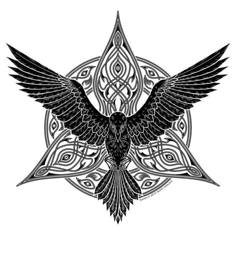 celtic raven tattoo designs image result for celtic wolf tattoos