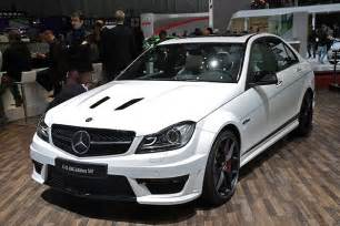 2014 Mercedes C63 2014 Mercedes C63 Amg Edition 507 Still Lights Our