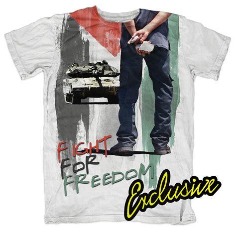 Islamic Cloth Fight For Freedom muslim t shirts islamic designer fashion muslim fashion
