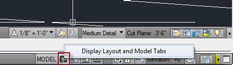 autocad layout and model tabs solved paper space and model space tabs autodesk community